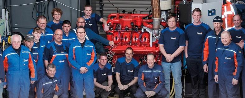 Sandfirden Technics staff