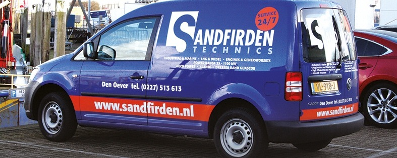 Sandfirden Technics maintenance and service