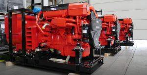 Sandfirden Technics marine diesel en gasgeneratorsets