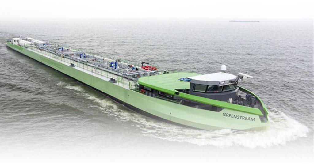 LNG Binnenvaart tanker - Shipyard Peters BV, NB 1401