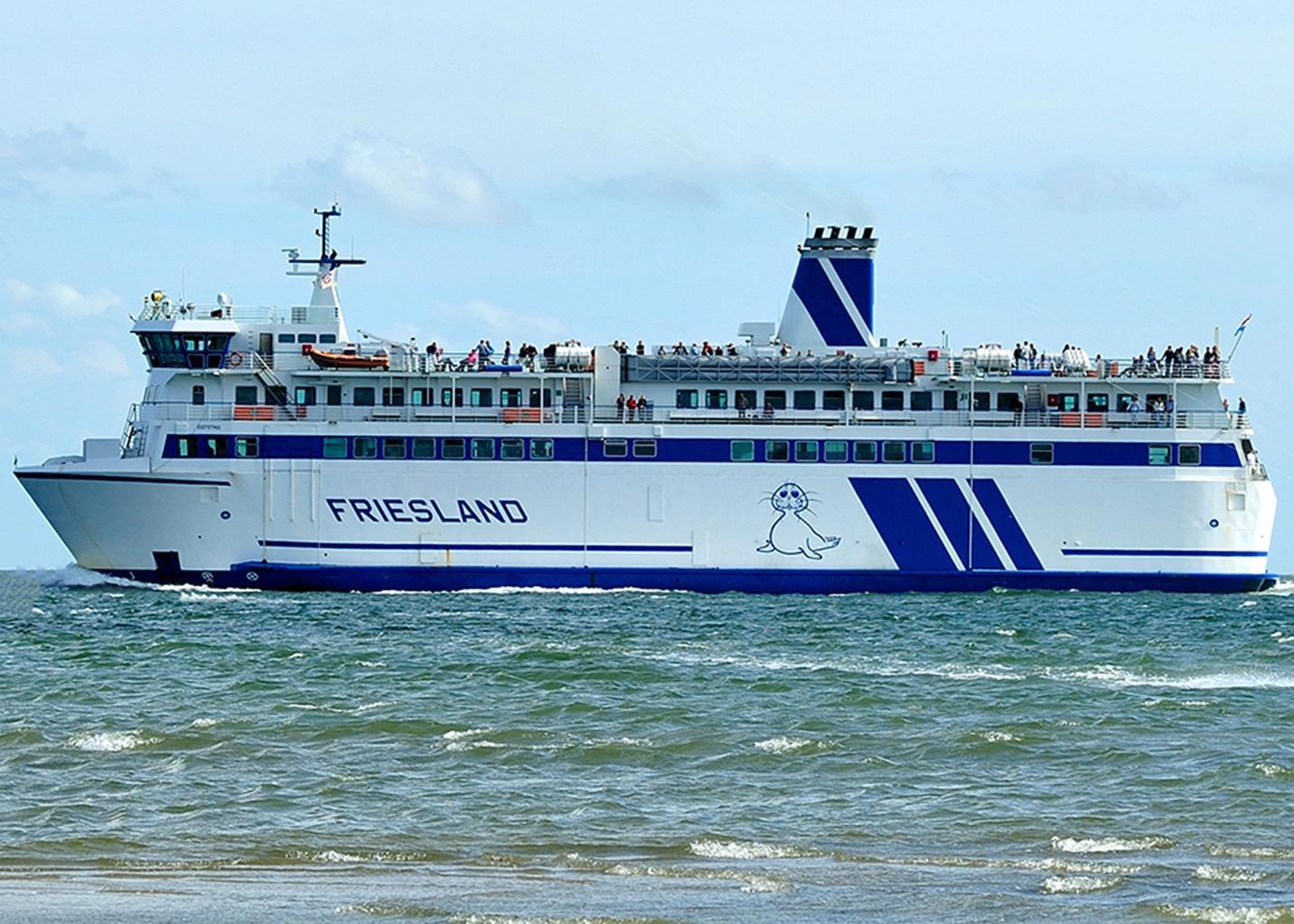 Veerdienst Ferries SFT160037 Rederij Doeksen Harlingen m.s. Friesland