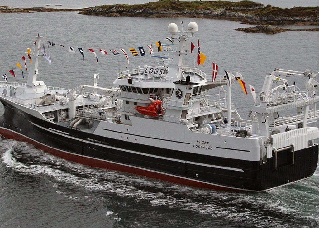 Hans Ostergaard as NB 422, M-70-HØ Rogne Karstensens Skibsvaerft as 3x OL820D, 508 kWe