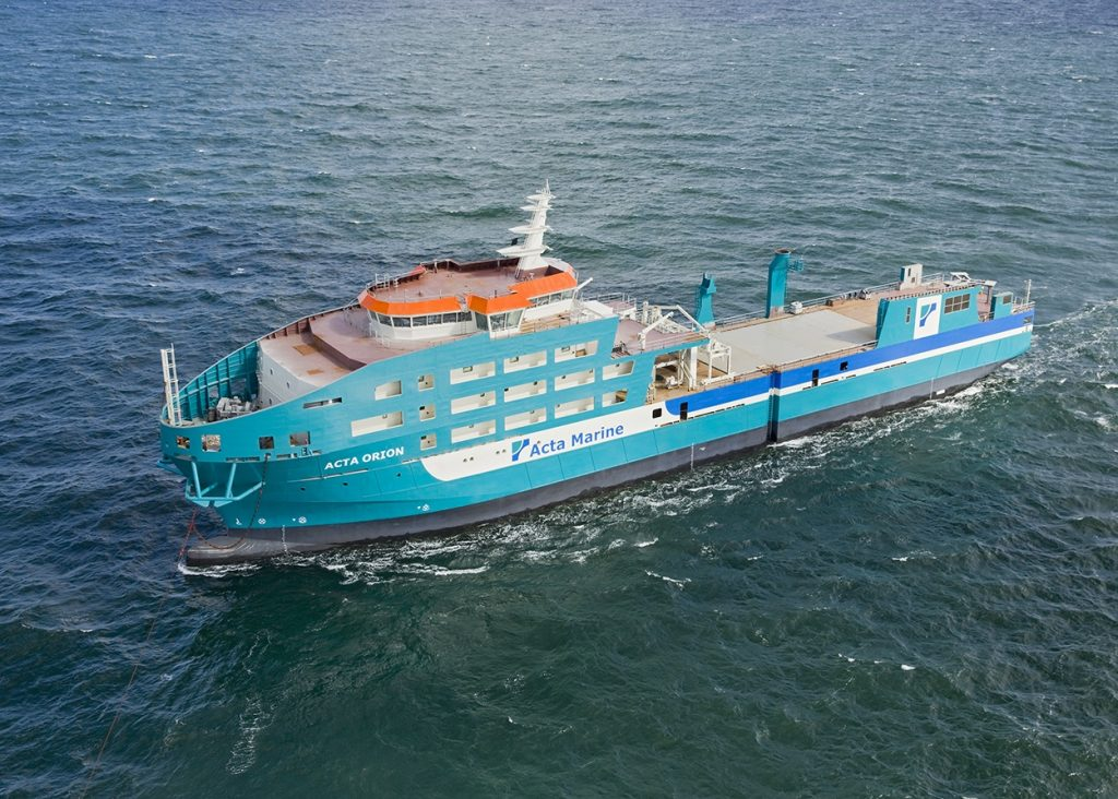CIG Shipbuilding m.s. Acta Orion
