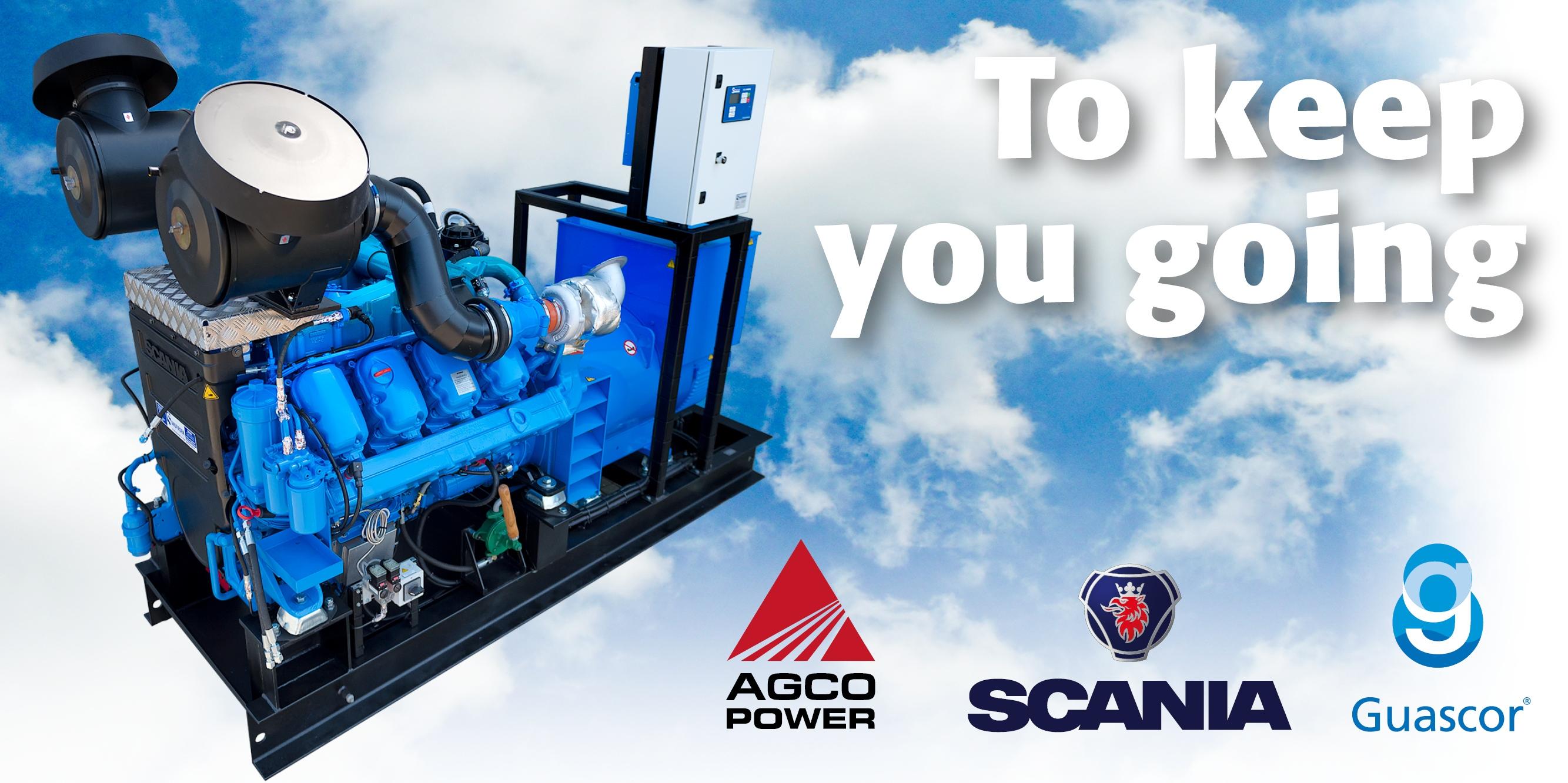 Scania Diesel Generator Sets