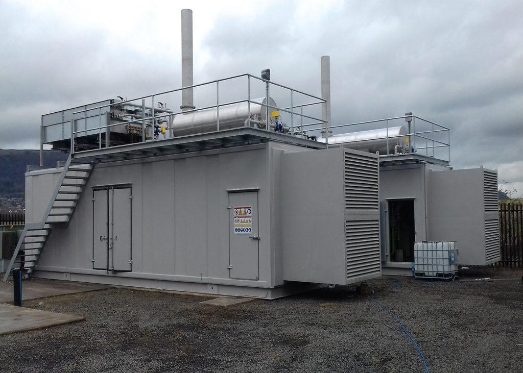 Biogas Landfill F4Energy GL621C gasgeneratorset