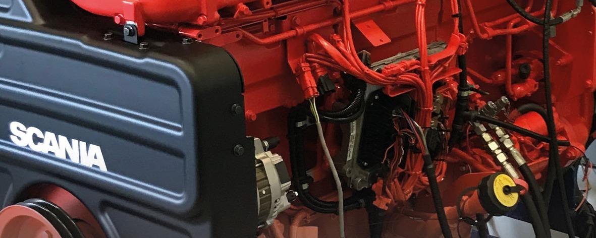 Sandfirden Technics marine dieselmotoren