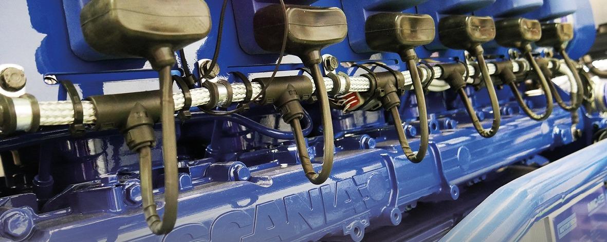 Sandfirden Technics motoren en generatorsets