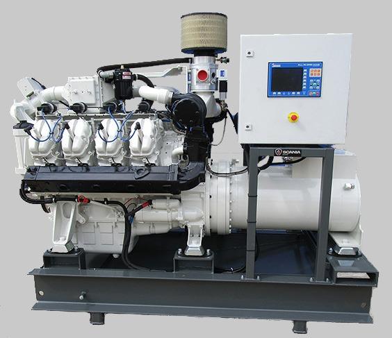 SGI-16 gasgeneratorset powered by Scania and Liebherr