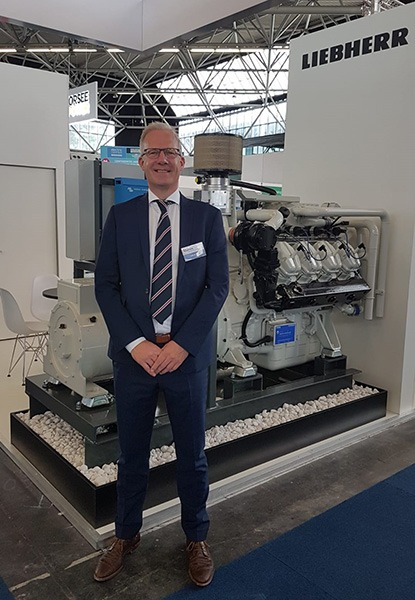 Electric Hybrid Marine World Expo 2018 Liebherr E5050