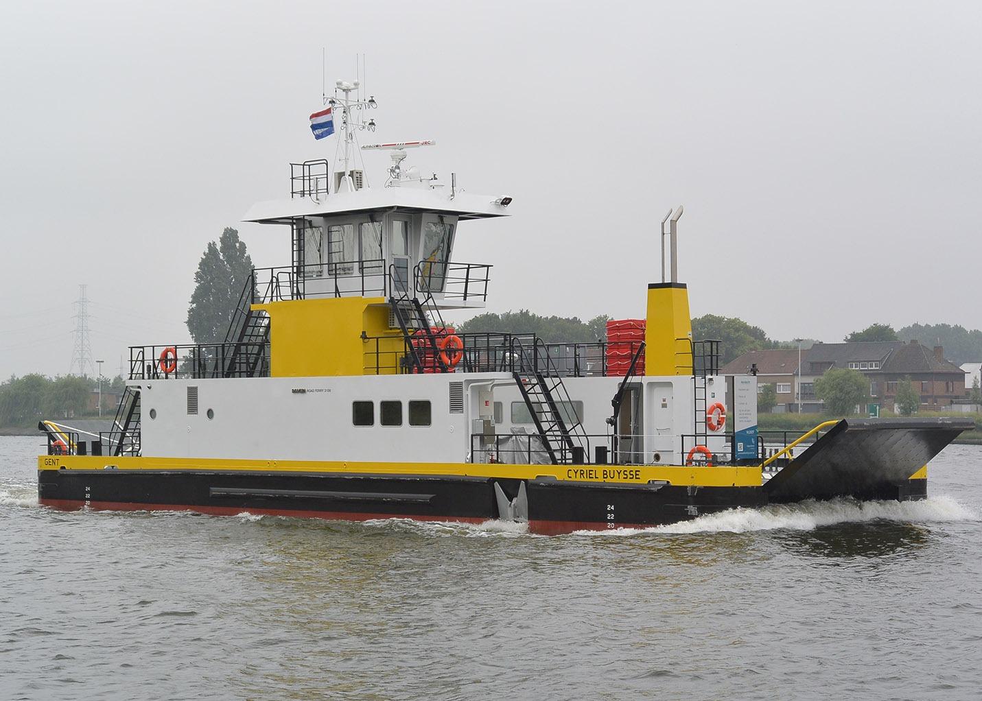 Veerdienst Ferries SFT170095 Damen Hardinxveld Cyriel Buysse Scania DI-13 diesel