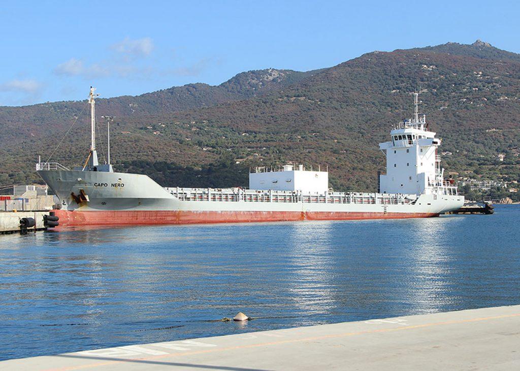 Sandfirden Technics Short Sea Shipping Chemgas ms Tempest Scania DI-13 080M 257 kW