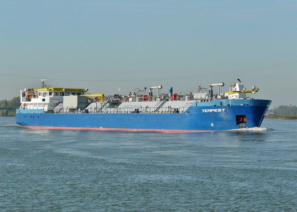 Sandfirden Technics Chemgas ms Tempest Scania DI-13 080M 257 kW