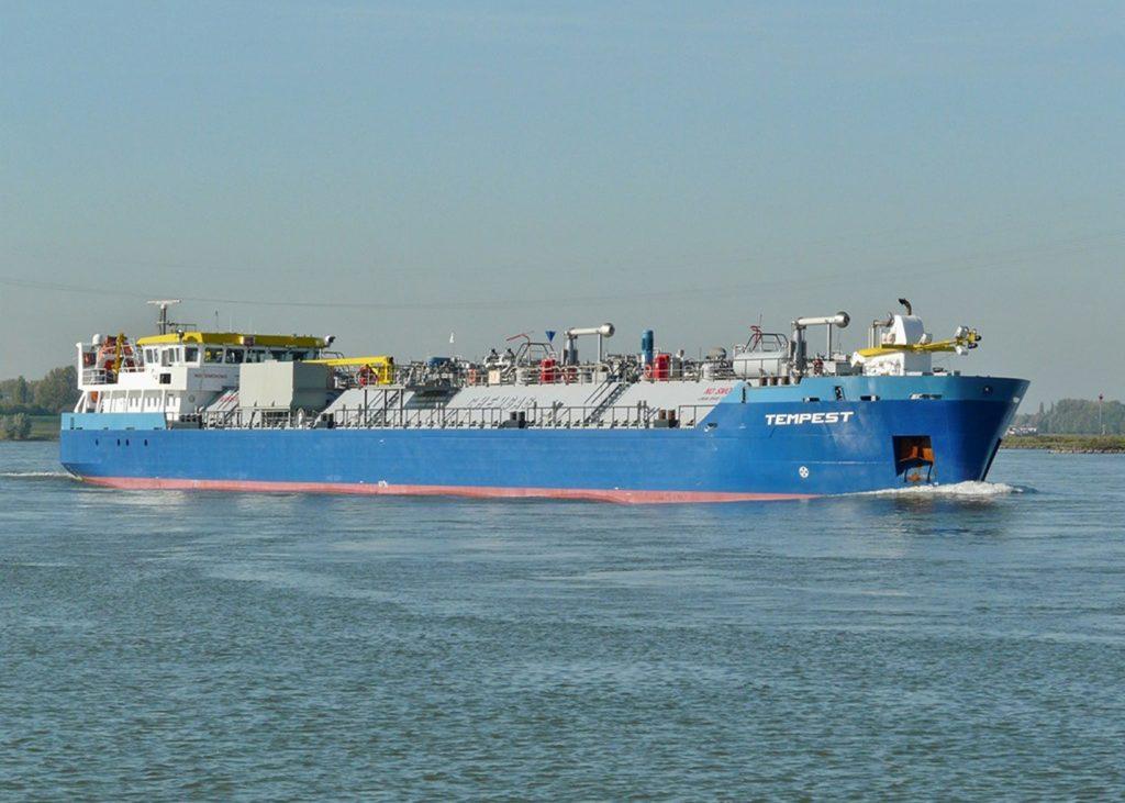 Zeevaart Chemgas ms Tempest Scania DI-13 080M 257 kW