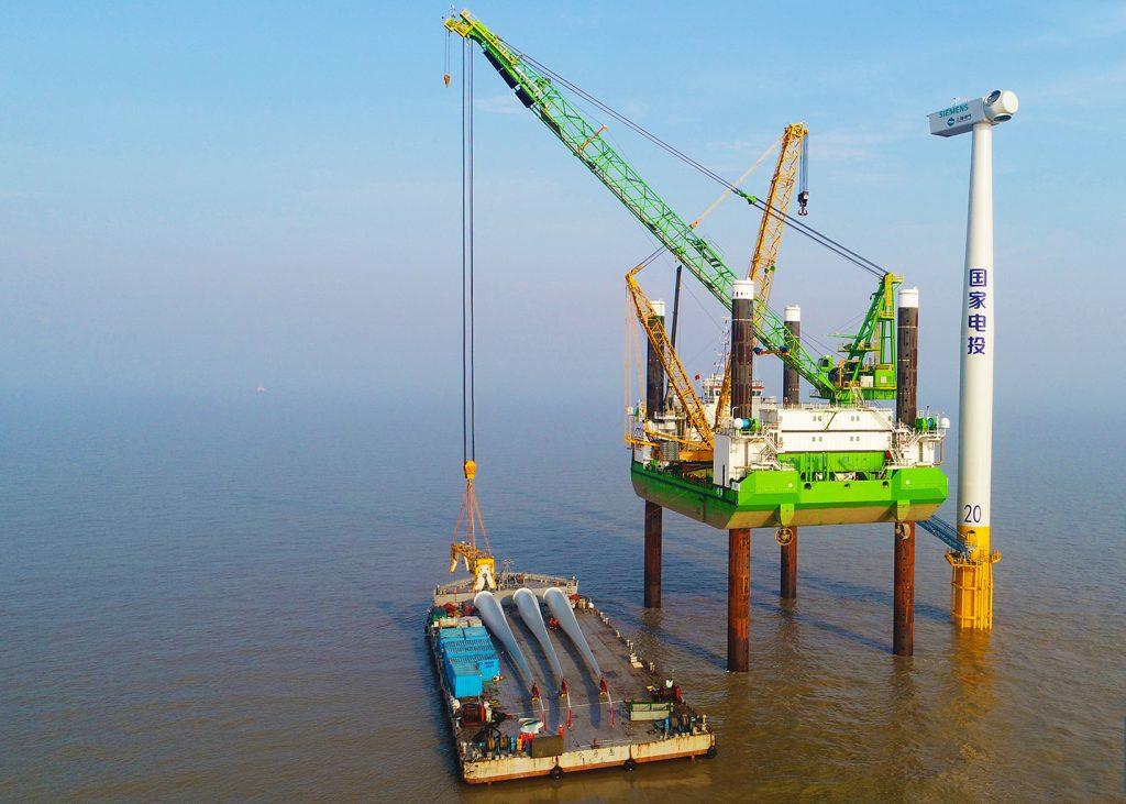 Offshore 181251 Cosco Shipping DEME Geo Sea Jack Up Li Ya Scania DI-16