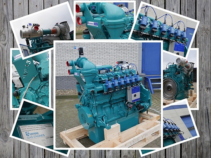 Industrial Biogas Engines SGI-13 and SGC-13 developed by in-house