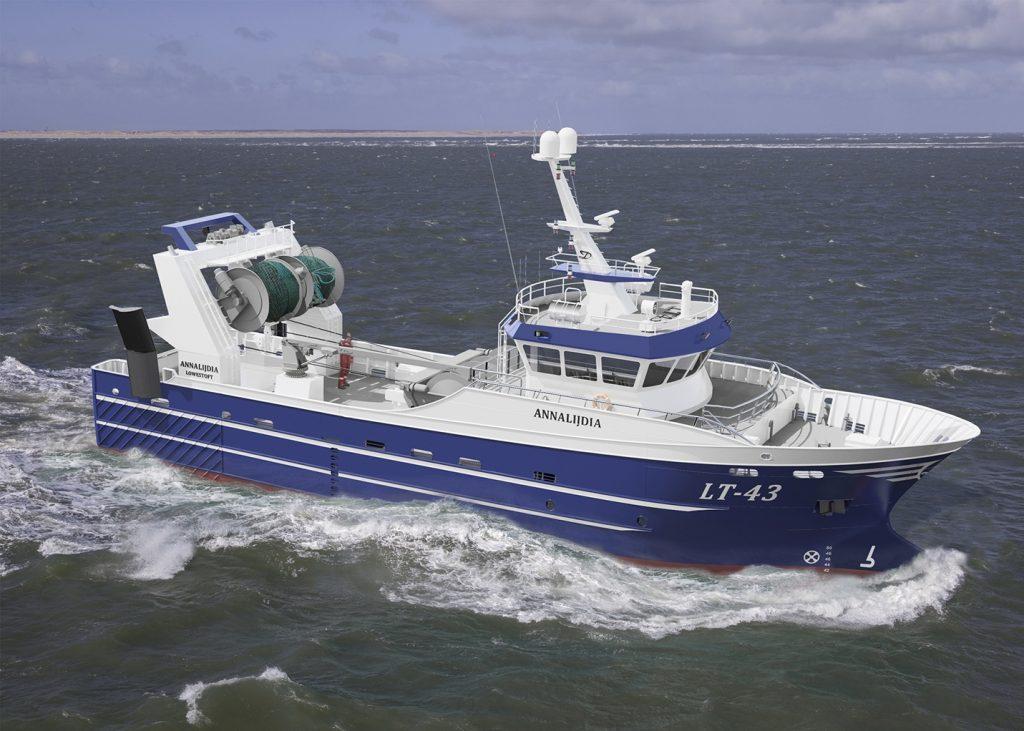 Thecla Bodewes Shipyards (2019) CS 115 Annalijdia Scania Agco Power Oceanline generatorsets