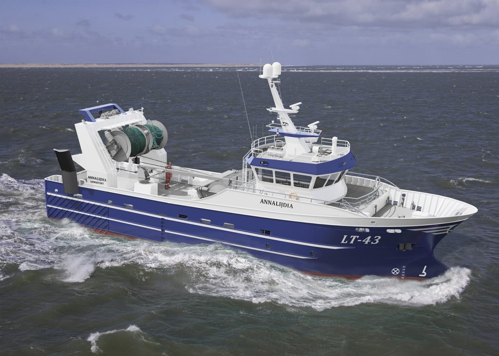 Thecla Bodewes Shipyards CS115 2x Scania DI-16 090M 1x 49CTAG OceanLine diesel generatorsets