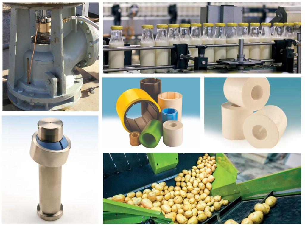 Thordon lagers industrie pomp flesvul voedselverwerking waterkracht waterzuivering