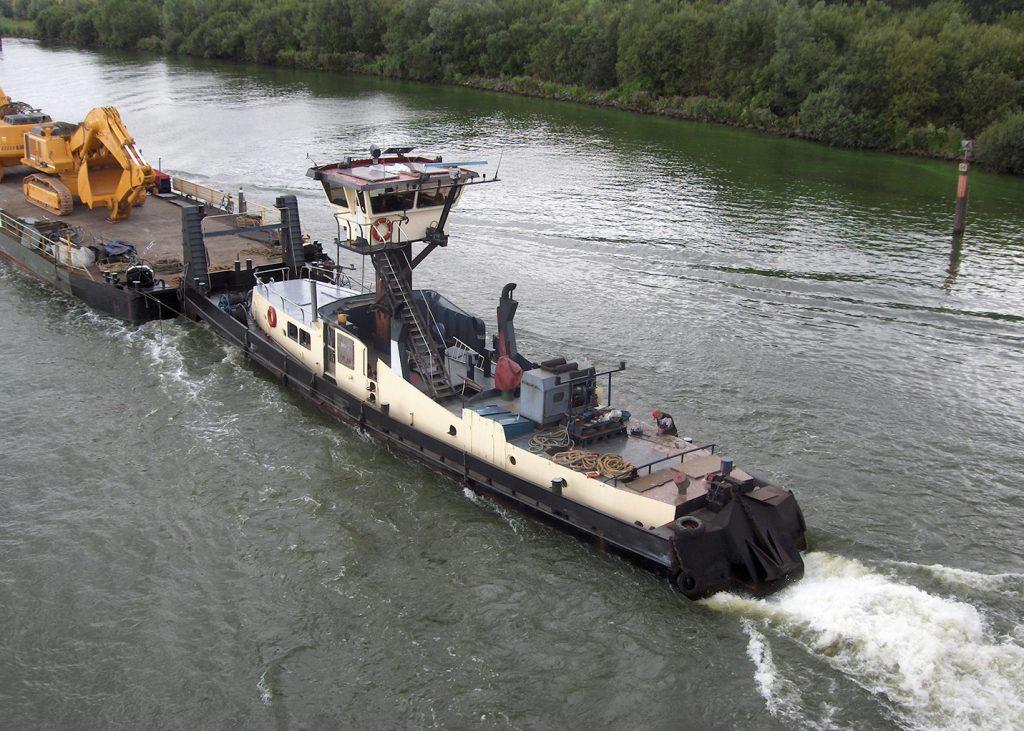 Binnenvaart Sandfirden Technics Scania DI-16 inbouw Kramer Duwboot Jason ©LeoSchuitemaker (50) _Vereniging_De_Binnenvaart