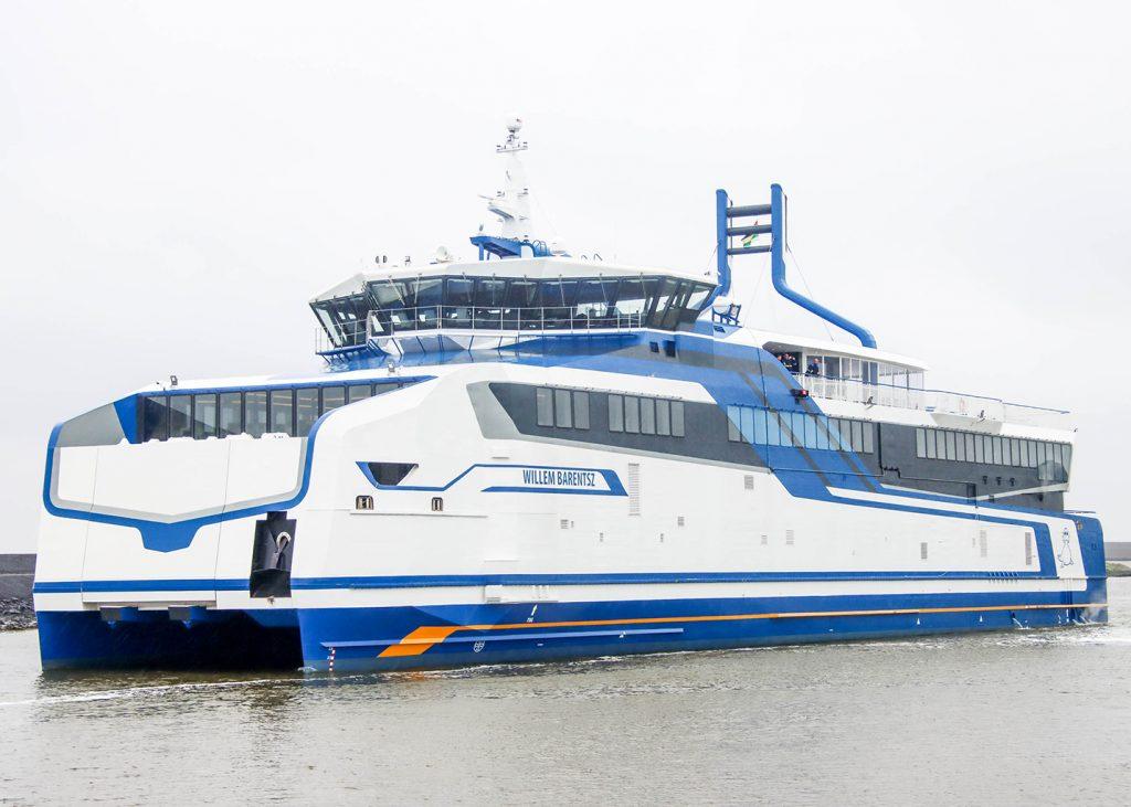 Rederij Doeksen Harlingen SFT151475 m.s. Willem Barentz 2x GL820M, 236 kWe Scania gasgeneratorsets