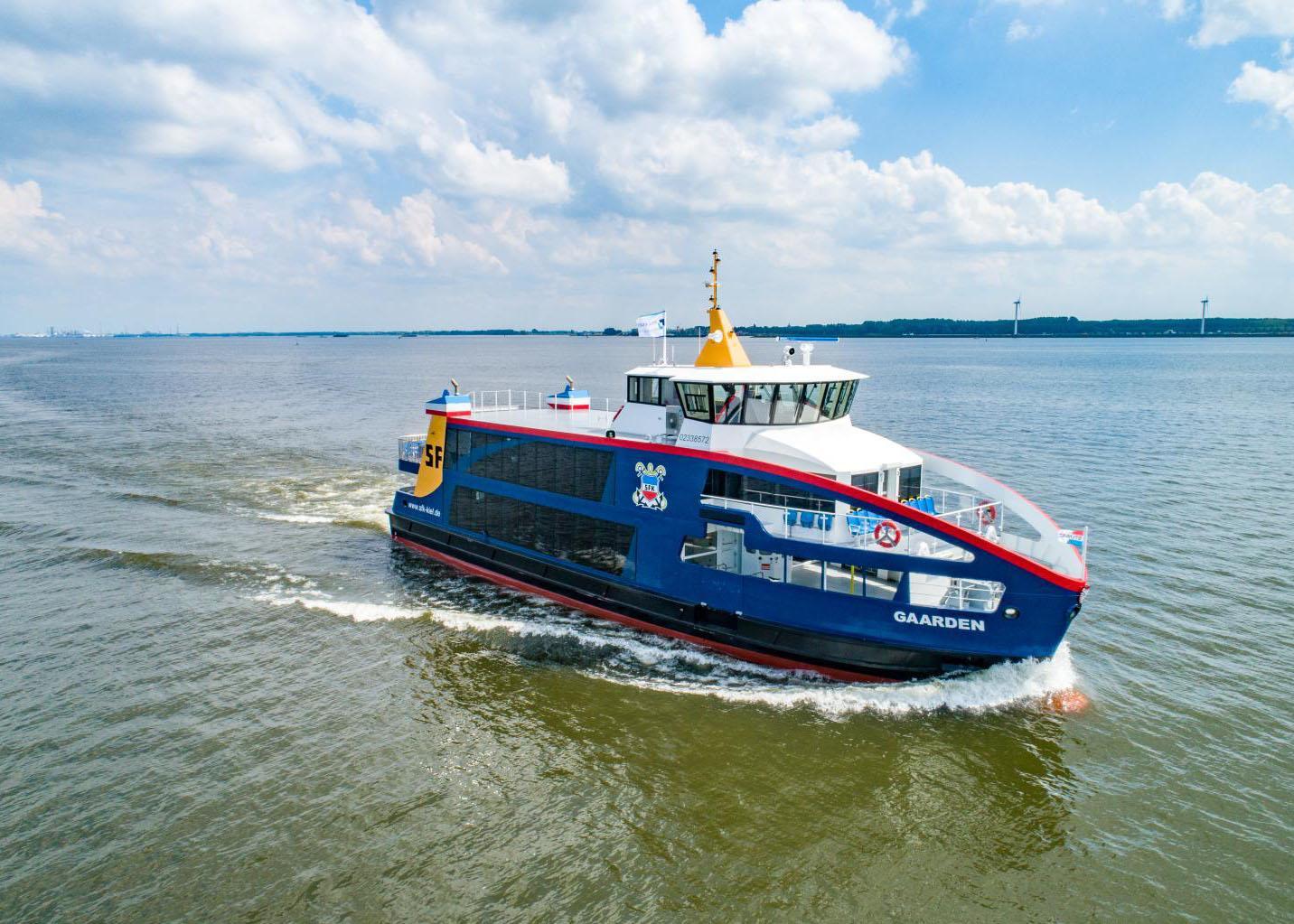 Veerdienst 180517 Holland Shipyard SFK ms Gaarden RL621F RiverLine