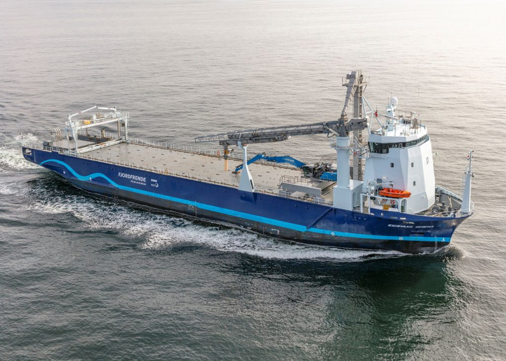 Sandfirden Technics 200098 Eidsvaag as Hartman Marine Shipbuilding NB 009 m.s. Eidsvaag Omega OL821D generatorsets Scania