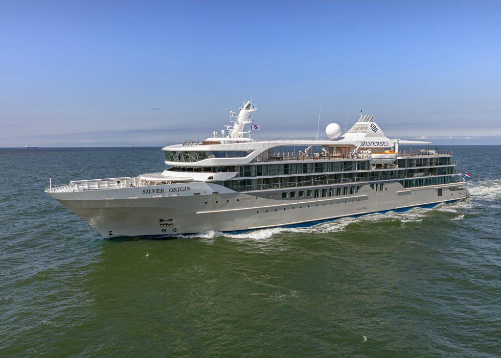 Hoop Lobith International Cruise Vessel Silver Origin Silversea Cruises 2x Scania genset
