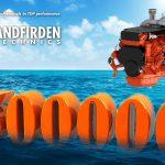 Sandfirden Technics marine gas engines SGI-16M 500.000 running hours